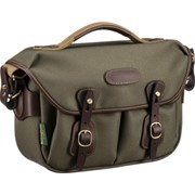 Billingham Hadley Small Pro Sage FibreNyte/ Chocolate Leather