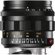 Leica 50mm f/1.2 Noctilux-M ASPH Lens Black Anodized Finish