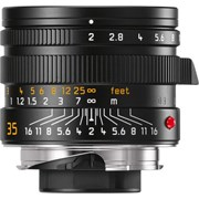 Leica 35mm f/2 APO-Summicron-M ASPH Lens Black