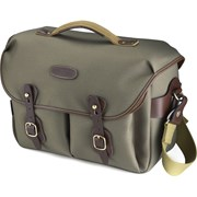Billingham Hadley One Sage FibreNyte/Chocolate Leather