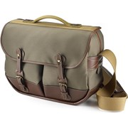 Billingham Eventer Camera/Laptop Bag Sage FibreNyte/Chocolate Leather